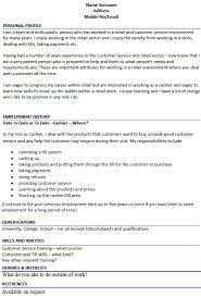cashier cv botbuzz co
