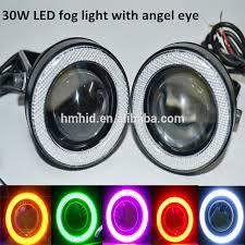 car led lights for sale big sale 30w car led projector lens light angel eye led fog light