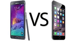 iphones vs androids iphone 6 plus vs galaxy note 4 comparison review macworld uk