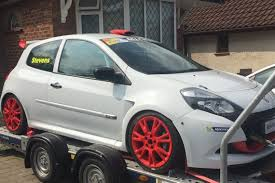 renault clio rally car racecarsdirect com renault clio cup x85 race car
