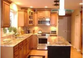 Small Kitchen Remodel Featuring Slate Tile Backsplash by Pictures Of Small Kitchens Makeovers The Best Option Small