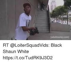 Shaun White Meme - adultswimcom rt black shaun white httpstcotudrk9j3d2 meme on sizzle
