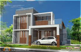 flat roof design plans single story house designs modern wooden