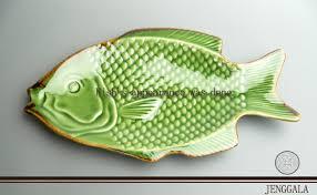 ceramic fish platter bali horyis rakuten global market fish plate jenggala keramik