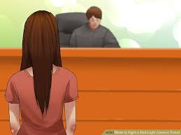 dispute red light camera ticket how to fight a red light camera ticket with pictures wikihow