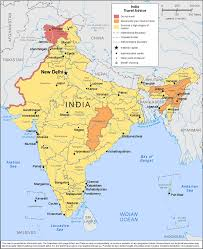 Delhi India Map by How Safe Is India Safety Tips U0026 Crime Map Safearound