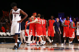 s basketball uconn out of top 25 after losses to syracuse