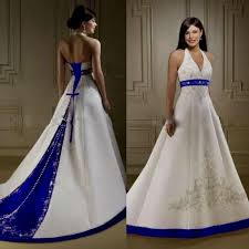 blue wedding dress white and blue wedding dresses naf dresses