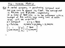 5 6 solving word problems using the inverse youtube
