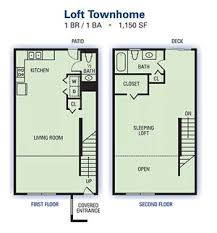 Lakeside Apartment Townhomes  Riverdale Road College Park - One bedroom townhome