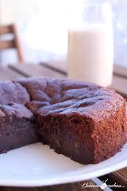 hervé cuisine pate a choux gâteau au chocolat à tomber sans beurre et sans sucre