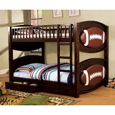 Loft Beds Plans Free Lowes shop furniture of america olympic dark walnut twin over twin