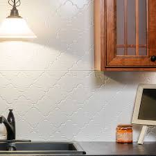 fasade backsplash monaco in matte white