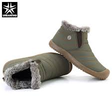 aliexpress com buy urbanfind men snow boots warm ankle boots