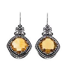 citrine earrings citrine earrings hsn