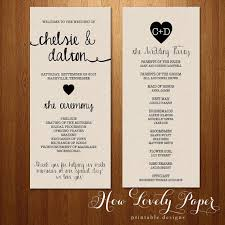 sided wedding programs the rayna collection programs 15 dowload i like the