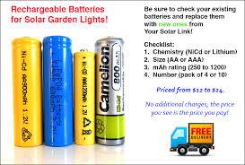 can you use regular batteries in solar lights solar garden lights your solar link blog