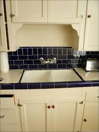 kitchen kitchen backsplash ideas with white cabinets gray and
