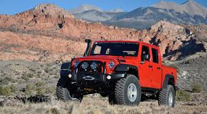 jeep truck conversion own the outdoors with a hemi powered jeep wrangler brute pickup