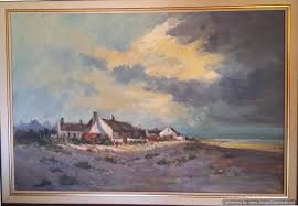 Coast Cottages by Cathartsis Art Works Eugene Hurter Art Gallery Of Previous