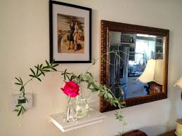 day 5 of decorating with flowers the console table flowers for