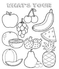 fruit and veg coloring pages google search colouring