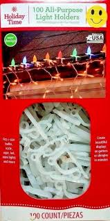 gutter clips for christmas lights christmas light clips 100 holders holiday light decor house roof