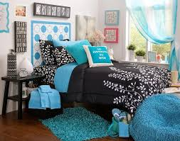 blue white and black bedroom home design ideas