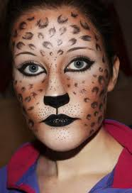 Halloween Animal Makeup Awesome Halloween Animal Makeup Ideas