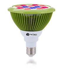 growing herbs indoors under lights hytech garden led grow light bulb for indoor gardening hydroponics