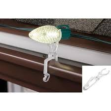 hanging pictures with wire and clips bright idea clips for outdoor christmas lights hanging gutter