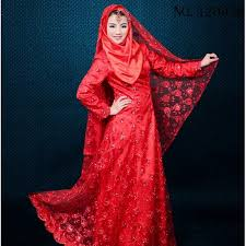 wedding dress malaysia custom muslim wedding dress color malaysia clothes sleeve