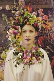 floral headdress flower maiden beautiful photography of women and