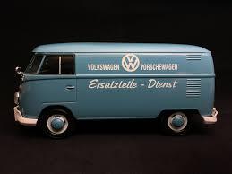 volkswagen porsche vw kombi t1 porsche träger diesel ersatzteile dienst blau 1 24