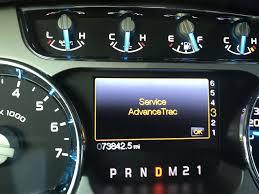 hill descent control fault service advancetrac warning ford
