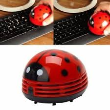 Ladybug Desk Accessories Mini Ladybug Desktop Coffee Table Vacuum Cleaner Dust Collector