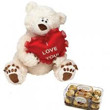 love teddy with ferrero