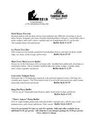 Buffet King Prices by Capital Hallashwaubenon Bowl Green Bay Wi