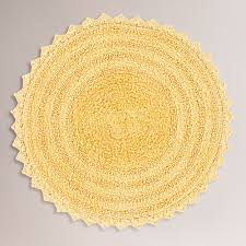 Yellow Bathroom Rug I Also Like This Color Yellow Bath Mat World Market