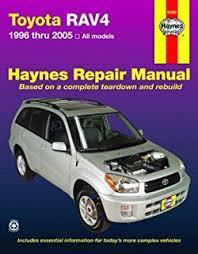 2005 toyota manual toyota rav4 1996 2005 chilton s total car care repair manual