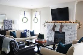 Christmas Living Room by Preppy Plaid Christmas Home Tour Life On Virginia Street
