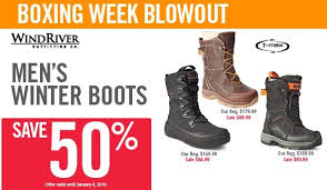 sale boots in canada s canada boxing week sale save 50 s windriver