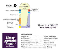 Albany Ny Zip Code Map by Maps U0026 Directions Alb Albany International Airport