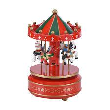 sous cheval bureau wr home office décoration 4 chevaux en bois boîte à musique de