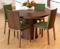 furniture kitchen table furniture modern dining room feature rounded stained wood dining