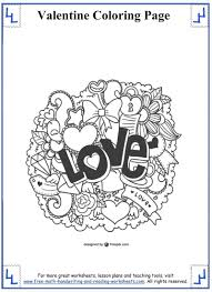 valentines coloring page alric coloring pages