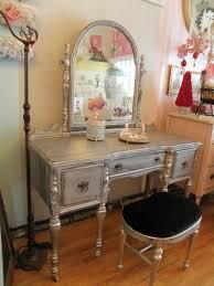 Velvet Vanity Chair Furniture Casual Image Of Bedroom Furnishing Decoration Using