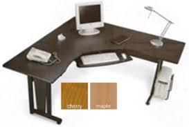 Computer Desk Without Keyboard Tray Ofm 55177 Rize Panel System Desk 6 U0027 X 6 U0027 L Shaped Freestanding