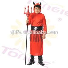 Halloween Costume Devil Popular Halloween Cosplay Costume Kid Devil Costume Red