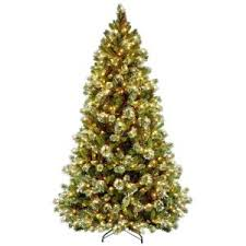 home depot black friday christmas trees national tree company 7 1 2 ft carolina pine hinged artificial